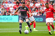 Jack Harrison of Leeds United (22) in action during the EFL Sky Bet Championship match between Bristol City and Leeds United at Ashton Gate, Bristol, England on 4 August 2019.