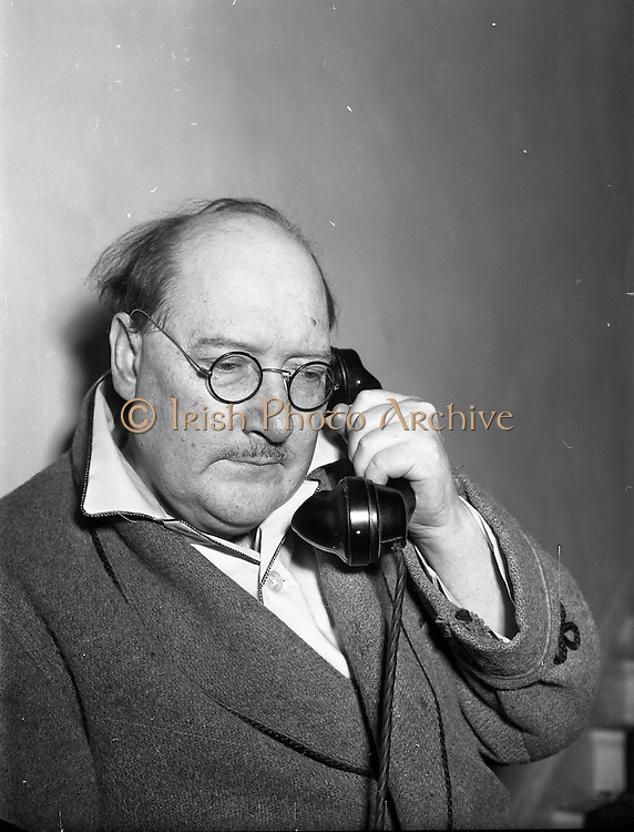 Cecil Ffrench Salkeld - Special for Daily Mail <br /> 09/07/1959<br /> <br /> Cecil Ffrench Salkeld ARHA (1904-1969)  <br /> As a member of the Dublin Painters group, as well as a poet, playwright and owner of the Gayfield Press, Cecil Salkeld was at the forefront of the avant-garde in Irish arts and literature. He studied art in Kassell in the early 1920s, coming under the influence of Otto Dix and the New Objectivity movement. Upon returning to Dublin, he aligned himself immediately with the modernists, showing works with the New Irish Salon and the Radical Painters' Group among others.