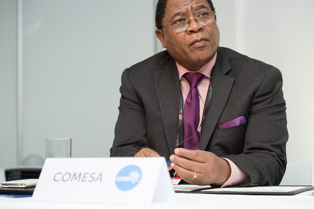04 June 2015 - Belgium - Brussels - European Development Days - EDD - Signing Ceremony,  Regional Indicative Programme for Eastern Africa , Southern Africa and the Indian Ocean - Sindiso Ngwenya, Secretary General Of Common Market for Eastern and Southern Africa (COMESA) © European Union