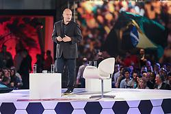 """O executivo da Nike, Gerardo Carucci (Itália) durante o """"Seminário Futebol do Futuro"""", realizado em Porto Alegre com especialistas e personalidades de renome nacional e internacional da área esportiva. FOTO: Jefferson Bernardes/ Agência Preview"""