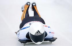 Matthias Guggenberger of Austria competes during 1st Run of FIBT Bob & Skeleton World Cup Innsbruck-Igls race on January 23, 2009 in Igls, Innsbruck, Austria. (Photo by Vid Ponikvar / Sportida)