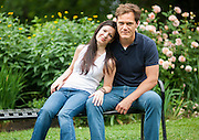 Actors Kate Arrington and Michael Shannon photographed in Chicago's Lincoln Park neighborhood Monday June 24th 2013.<br /> | Michael R. Schmidt~ For Sun-Times Media