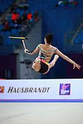 Alexandra Ana Maria Agiurgiuculese is an Italian gymnast, of Romanian origins, individualist of the Italian National Rhythmic Gymnastics.