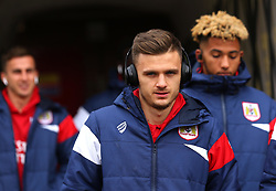 Jamie Paterson of Bristol City arrives at Barnsley - Mandatory by-line: Robbie Stephenson/JMP - 30/03/2018 - FOOTBALL - Oakwell Stadium - Barnsley, England - Barnsley v Bristol City - Sky Bet Championship