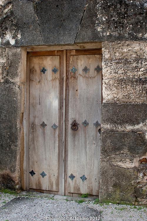 Door Detail, Mission San Juan Capistrano, San Antonio, TX.