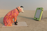 Man's Best Friend by: Chris Mack and The Unintelligent Design Society from: Carmel, CA year: 2018 My Burning Man 2018 Photos:<br />