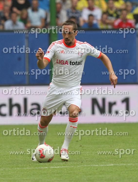 Football: Liga Total Cup 2012, FC Bayern Muenchen, Hamburg, 05.08.2012.Franck Ribery.©Êpixathlon