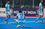 BHUBANESWAR (India) -  Hero Champions Trophy hockey men. Match for bronze. Australia vs India. disappointed players of India. Uthappa Sannuvanda  of India. Photo Koen Suyk