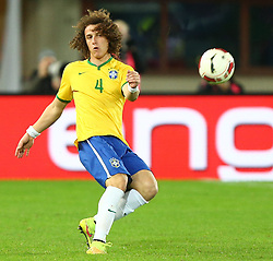 18.11.2014, Ernst Happel Stadion, Wien, AUT, Freundschaftsspiel, Oesterreich vs Brasilien, im Bild David Luiz (BRA) // during the friendly match between Austria and Brasil at the Ernst Happel Stadion, Vienna, Austria on 2014/11/18. EXPA Pictures © 2014, PhotoCredit: EXPA/ Thomas Haumer