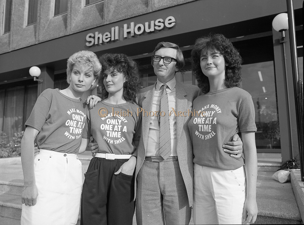 """Make Money"" whit shell, press reception at Shell House, Dublin,<br />