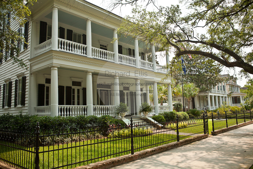 William Doyle Morgan House, a historic georgian home in Georgetown, SC.