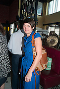 ELIZABETH NEILSON, Brunch to celebrate the launch of Art HK 11. Miss Yip Chinese Cafe. Meridian ave,  Miami Beach. 3 December 2010. -DO NOT ARCHIVE-© Copyright Photograph by Dafydd Jones. 248 Clapham Rd. London SW9 0PZ. Tel 0207 820 0771. www.dafjones.com.