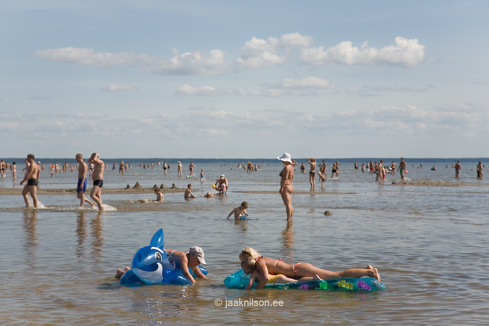Pärnu Beach, Estonia, Europe