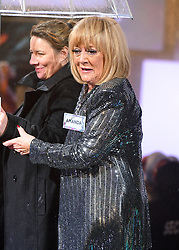 Amanda Barrie enters the house during the Celebrity Big Brother Launch held at Elstree Studios in Borehamwood, Hertfordshire.Â