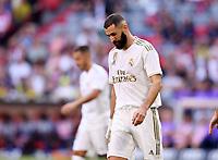 Fussball International Audi Cup 2019   Saison 2019/2020   30.07.2019 Halbfinale Real Madrid - Tottenham Hotspur Karim Benzema (Real Madrid) nachdenklich