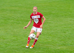 Julie Biesmans of Bristol City - Mandatory by-line: Paul Knight/JMP - 26/08/2018 - FOOTBALL - Stoke Gifford Stadium - Bristol, England - Bristol City Women v Sheffield United Women - Continental Tyres Cup