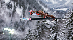 20.01.2018, Heini Klopfer Skiflugschanze, Oberstdorf, GER, FIS Skiflug Weltmeisterschaft, Einzelbewerb, im Bild Dawid Kubacki (POL) // Dawid Kubacki of Poland during individual competition of the FIS Ski Flying World Championships at the Heini-Klopfer Skiflying Hill in Oberstdorf, Germany on 2018/01/20. EXPA Pictures © 2018, PhotoCredit: EXPA/ Peter Rinderer