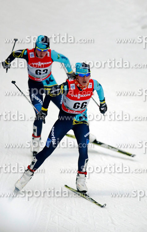 03.01.2013, Nordische Arena, Toblach, ITA, FIS Langlauf Weltcup, Tour de Ski 2013, Damen, 15km Verfolgung, im Bild Viktoriya Lanchakova // during Ladies 15 km Free Pursuit of the Tour de Ski 2013 of the FIS cross country world cup at nordic arena in Dobiacco, Italy on 2013/01/03. EXPA Pictures © 2013, PhotoCredit: EXPA/ Newspix/ Irek Dorozanski..***** ATTENTION - for AUT, SLO, CRO, SRB, BIH, TUR, SUI and SWE only *****