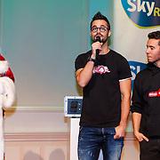 NLD/Hilversum/20121207 - Skyradio Christmas Tree, Jan Kooijman en Ish Ait Hamou