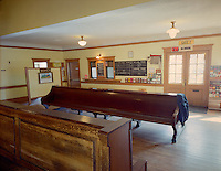 Bellows Falls Station serves Amtrak and local excursion trains, Bellows Falls, VT