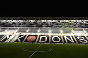 Stadium MK during the The FA Cup Third Round Replay match between Milton Keynes Dons and Northampton Town at stadium:mk, Milton Keynes, England on 19 January 2016. Photo by Dennis Goodwin.