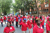 """5478 – The Independent Voters of Illinois Independent Precinct Organization came out for the parade.<br /> <br /> Hyde Park celebrated the holiday weekend with its annual 4th of July Parade which circled the neighborhood and finished in Nichols Park.<br /> <br /> Please 'Like' """"Spencer Bibbs Photography"""" on Facebook.<br /> <br /> All rights to this photo are owned by Spencer Bibbs of Spencer Bibbs Photography and may only be used in any way shape or form, whole or in part with written permission by the owner of the photo, Spencer Bibbs.<br /> <br /> For all of your photography needs, please contact Spencer Bibbs at 773-895-4744. I can also be reached in the following ways:<br /> <br /> Website – www.spbdigitalconcepts.photoshelter.com<br /> <br /> Text - Text """"Spencer Bibbs"""" to 72727<br /> <br /> Email – spencerbibbsphotography@yahoo.com"""