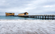 Queenscliff Pier in early morning