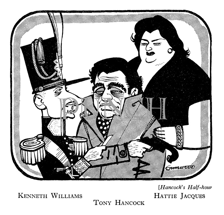 Hancock's Half-Hour: Kenneth Williams, Hattie Jacques, Tony Hancock