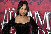 2019, December 01. Pathe ArenA, Amsterdam, the Netherlands. Nienke van Dijk at the dutch premiere of The Addams Family.