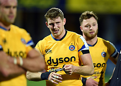 Ruaridh McConnochie of Bath Rugby looks dejected after the match - Mandatory byline: Patrick Khachfe/JMP - 07966 386802 - 15/12/2019 - RUGBY UNION - Stade Marcel-Michelin - Clermont-Ferrand, France - Clermont Auvergne v Bath Rugby - Heineken Champions Cup