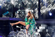 Jennifer Lopez performs for the State Farm Neighborhood Sessions at Orchard Beach in The Bronx, New York on June 04, 2014.