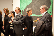 EMILIO FERNANDEZ MIRO; PETER MURRAY, Joan Mir—: The Ladder of Escape. Tate Modern. London. 12 April 2011. -DO NOT ARCHIVE-© Copyright Photograph by Dafydd Jones. 248 Clapham Rd. London SW9 0PZ. Tel 0207 820 0771. www.dafjones.com.<br /> EMILIO FERNANDEZ MIRO; PETER MURRAY, Joan Miró: The Ladder of Escape. Tate Modern. London. 12 April 2011. -DO NOT ARCHIVE-© Copyright Photograph by Dafydd Jones. 248 Clapham Rd. London SW9 0PZ. Tel 0207 820 0771. www.dafjones.com.
