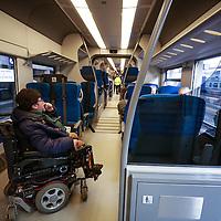 """Nuovo treno GTT """"Coradia Meridian' di Alstom  in servizio sulla  linea Rivarolo-Chieri del Servizio Ferroviario Metropolitano di Torino"""