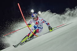 "29.01.2019, Planai, Schladming, AUT, FIS Weltcup Ski Alpin, Slalom, Herren, 1. Lauf, im Bild Alexis Pinturault (FRA) // Alexis Pinturault of France in action during his 1st run of men's Slalom ""the Nightrace"" of FIS ski alpine world cup at the Planai in Schladming, Austria on 2019/01/29. EXPA Pictures © 2019, PhotoCredit: EXPA/ Dominik Angerer"