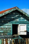 Colorful house, San Pedro, Belize