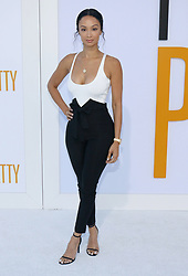 Draya Michele at the Los Angeles premiere of 'I Feel Pretty' held at the Regency Village Theatre in Westwood, USA on April 17, 2018.
