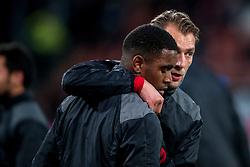 19-01-2018 NED: FC Utrecht - AZ Alkmaar, Utrecht<br /> Gyrano Kerk #7 of FC Utrecht, Willem Janssen #14 of FC Utrecht
