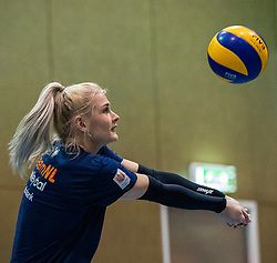 14-05-2019 NED: Training national volleyball team Women, Arnhem<br /> Dutch volleyball team women starts the training yesterday. There is a tough program ahead this summer. They starts with group matches of the VNL, then OKT in Catania in Italy, Worldcup in Japan and the European Championship played in Hungary / Hester Jasper of Netherlands