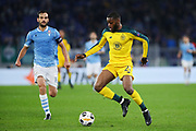 Oliver Ntcham of Celtic in action during the UEFA Europa League, Group E football match between SS Lazio and Celtic FC on November 7, 2019 at Stadio Olimpico in Rome, Italy - Photo Federico Proietti / ProSportsImages / DPPI