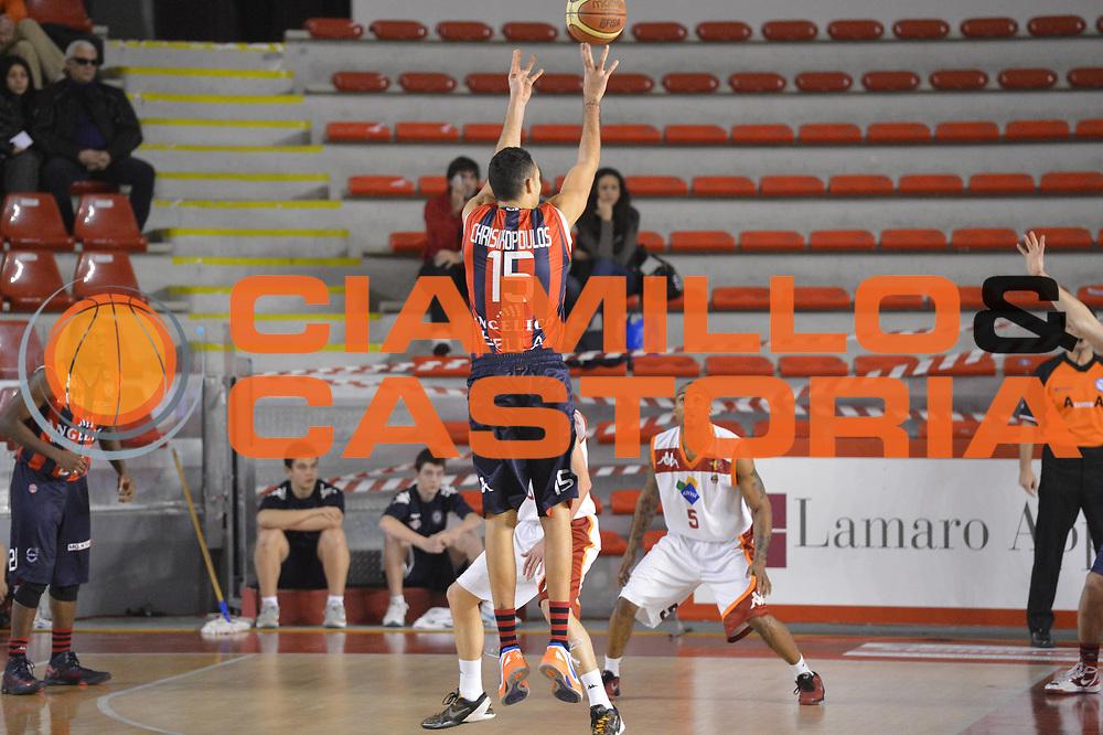 DESCRIZIONE : Roma Lega A 2012-13 Acea Roma Angelico Biella<br /> GIOCATORE : Chrysikopoulos Linos<br /> CATEGORIA : three points<br /> SQUADRA : Angelico Biella<br /> EVENTO : Campionato Lega A 2012-2013 <br /> GARA : Acea Roma Angelico Biella<br /> DATA : 06/01/2013<br /> SPORT : Pallacanestro <br /> AUTORE : Agenzia Ciamillo-Castoria/GiulioCiamillo<br /> Galleria : Lega Basket A 2012-2013  <br /> Fotonotizia :  Roma Lega A 2012-13 Acea Roma Angelico Biella<br /> Predefinita :
