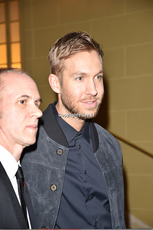 London,UK, 26th Feb 2015 : Calvin Harris attends the Vanity Project for the Prince's Trust at Hotel Cafe Royal in London. Photo by See Li