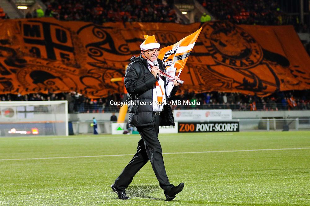 Tifo Lorient / Didier LE BOTMEL  - 20.12.2014 - Lorient / Nantes - 19eme journee de Ligue 1 -<br /> Photo : Vincent Michel / Icon Sport