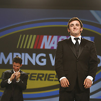 Homestead, FL - NOV 21, 2011:  Ricky Stenhouse Jr. wins The NASCAR Nationwide Series Champion title for 2011 and Austin Dillon wins the NASCAR Camping World Truck Series Champion title at the Loews Hotel in Miami Beach, FL.