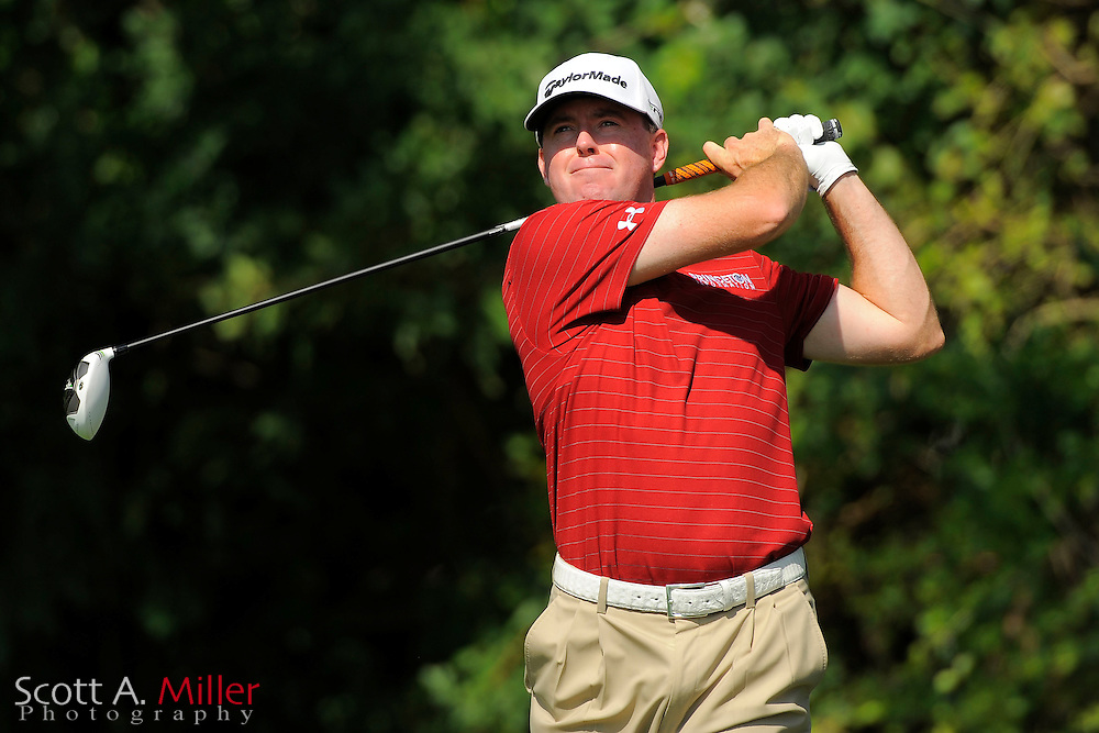 Robert Garrigus during the third round of the Honda Classic at PGA National on March 3, 2012 in Palm Beach Gardens, Fla. ..©2012 Scott A. Miller.