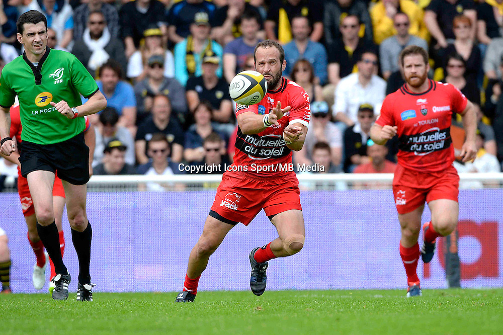 Frederic MICHALAK - 25.04.2015 - La Rochelle / Toulon - 23eme journee de Top 14<br />