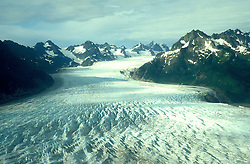 Alaska: Exploring Prince William Sound.  Photo akprin105.  Sheridan Glacier near Cordova..Photo copyright Lee Foster, 510/549-2202,  lee@fostertravel.com, www.fostertravel.com