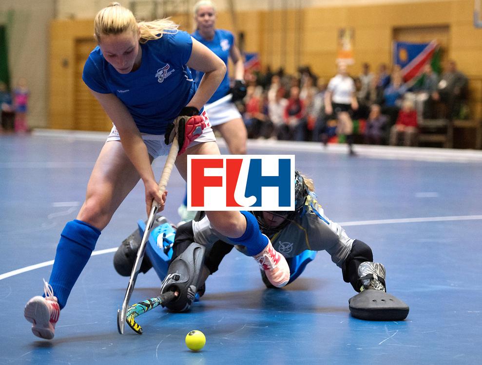 BERLIN - Indoor Hockey World Cup<br /> Czech Republic - Namibia<br /> foto: HAKLOVA Barbora<br /> WORLDSPORTPICS COPYRIGHT FRANK UIJLENBROEK