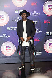 Labrinth. Red carpets arrivals at the MTV EMA's 2014 at The Hydro on November 9, 2014 in Glasgow, Scotland.