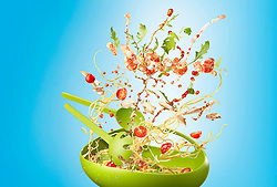 One Pot Wonder is series created for Men's Health magazine running as a periodic column proposing some hot new healthy recipes. The images shot with Piotrs' signature dynamic approach to food.