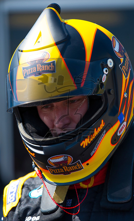 Elkhart Lake, WI - JUN 23, 2012: Michael McDowell (18) during qualifying for the Sargento 200  race at Road of America in Elkhart Lake , WI.